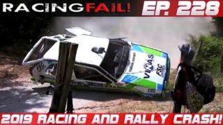 Racing and Rally Crash Compilation 2019 Week 228